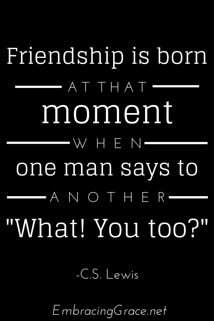 Friendship is born - so true!