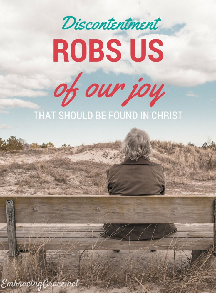 Discontentment Robs Us